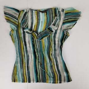To the Max semi sheer top size M